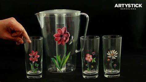 imagenes de vasos vintage artystick stickers para vasos copas jarras youtube