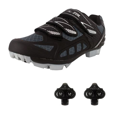bike shoes cleats zol predator mtb mountain bike and indoor cycling shoes
