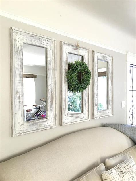 set   mirrors wreath  included pick   san