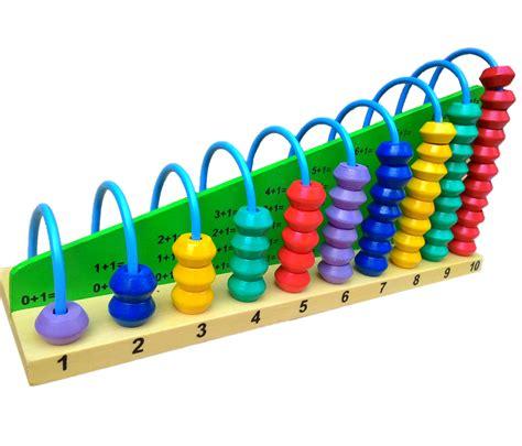 Sempoa Mainan Edukatif sempoa abacus 1 10 mainan kayu