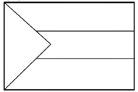flag to colour template printable flag of sudan coloring page coloringpagebook