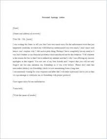 Business Letter Of Apology For Misunderstanding How To Write Apology Letter With Templates Formal Word
