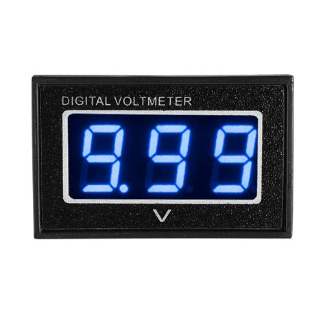Mini Voltmeter Waterproof Mini Voltmeter 3 30v Volt Led Display Digital