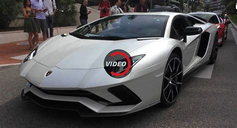 Lamborghini New Supercar New Lamborghini Aventador S Cruising The Streets Of Monaco
