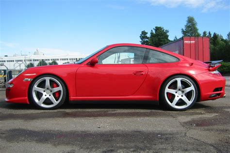 porsche ruf rt12 1 st pictures red ruf rt12 with 20 quot ctr3 wheels