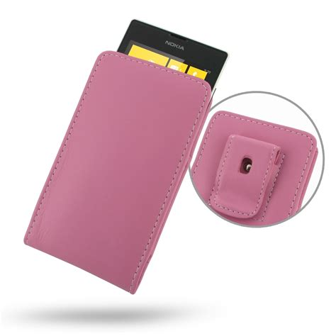 Nokia Cp 520 For Nokia E7 Carrying Pouch Casing Sarung Hp nokia lumia 520 pouch with belt clip petal pink pdair wallet