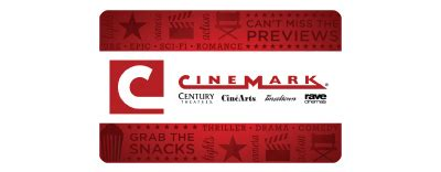 Scannable Gift Cards - cinemark gift cards