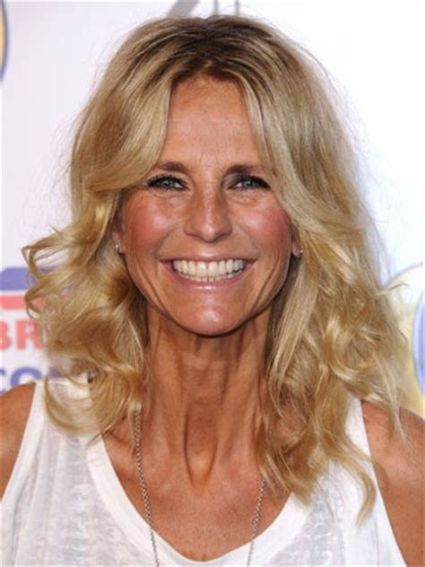 eek! ulrika jonsson shows off sinewy 'turkey' neck she