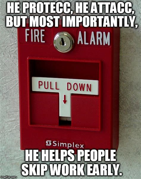Spider Fire Alarm Meme - fire alarm imgflip