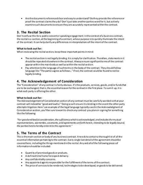 section 20 agreement understanding the 7 most important parts of any business