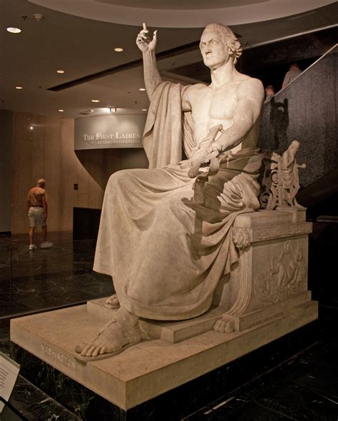 george washington as zeus george washington greenough statue right jpg