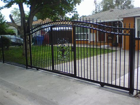 Decorative Privacy Fences by Wrought Iron Gates Sacramento Custom Work