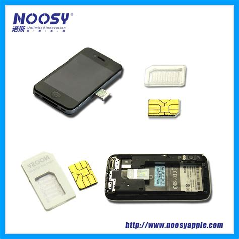 Sim Adapter Noosy Micro Nano Jarum Adapter Simcard best quality noosy sim adapter dual card adapter sim card