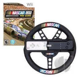 Nascar Steering Wheel For Ps4 Wii Nascar 11 W Steering Wheel Nintendo Wii