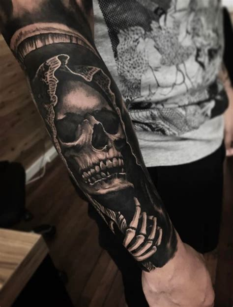 grim reaper tattoo inkstylemag