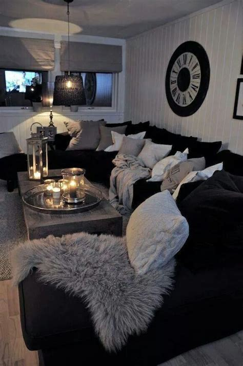 living room ideas with black sofa 25 best ideas about black decor on