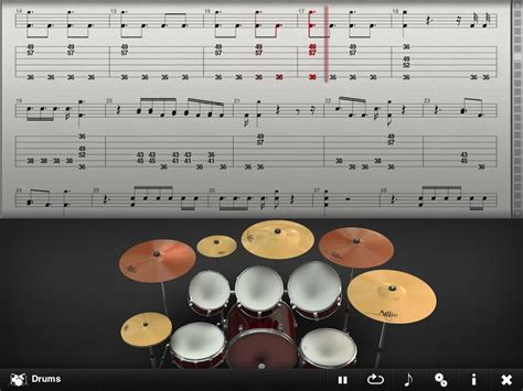 real drum tutorial for beginners musician s corner tab toolkit is the perfect app for