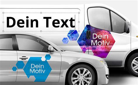 Autoaufkleber Auto Selber Machen by Autobeschriftung Online Selber Machen
