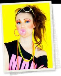 hairstyles of the 80s side ponytail 80s on pinterest 80s costume madonna and 80s party