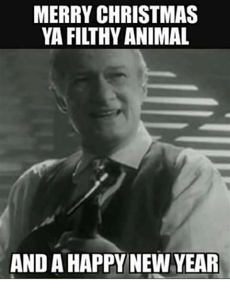 Merry Christmas You Filthy Animal Meme - merry christmas ya filthy animal meme my blog