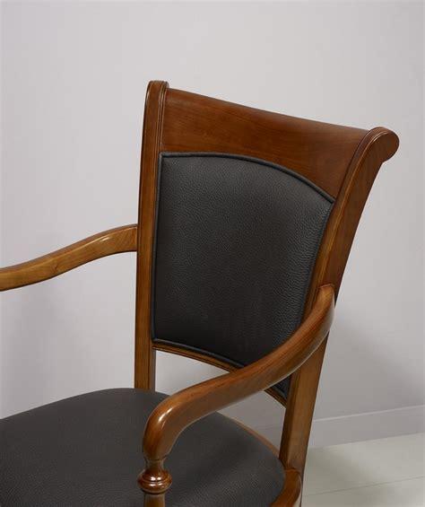 Fauteuil Noir 2684 by Fauteuil Ine En Merisier Massif De Style Louis Philippe