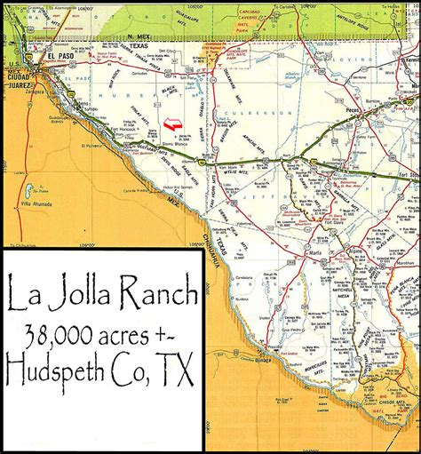 hudspeth county texas map la jolla ranch location
