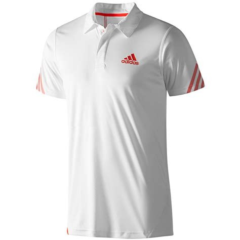 Polo Shirt Adidas White bike24 adidas s adizero polo shirt wimby running shirt white w41590