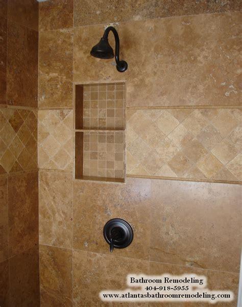 tub shower travertine shower ideas pictures alpharetta ga shower tile installers tile installation