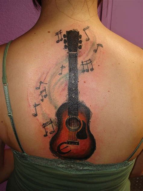 tattoo guitar neck guitar tattoos designs ideas and meaning tattoos for you