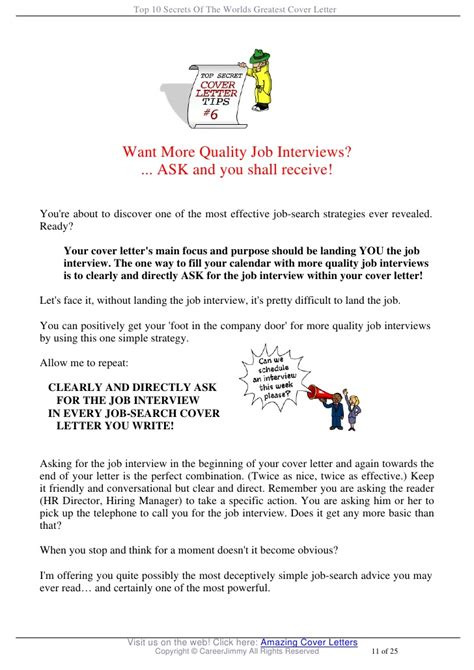 top 10 cover letters top 10 secrets of the worlds greatest cover letter
