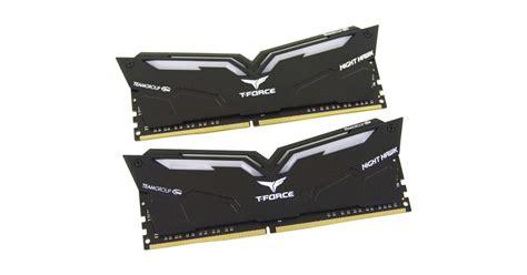 Memory Pc Team T Rog 16gb Ddr4 Pc24000 3000mhz Dual Channel team t hawk ddr4 3000 16gb memory kit review