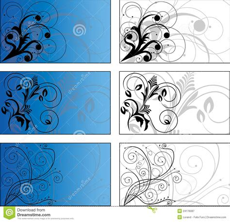 card templates royalty free 6 background designs royalty free stock photography