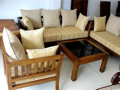 simple sofa set design wooden sofa set designs images awesome simple wooden sofa