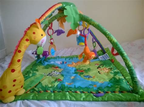 Rainforest Mat Fisher Price by Fisher Price Rainforest Melodies And Lights Deluxe Gymmatt