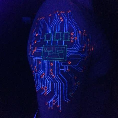 tinta tattoo glow in the dark 60 glow in the dark tattoos for men uv black light ink