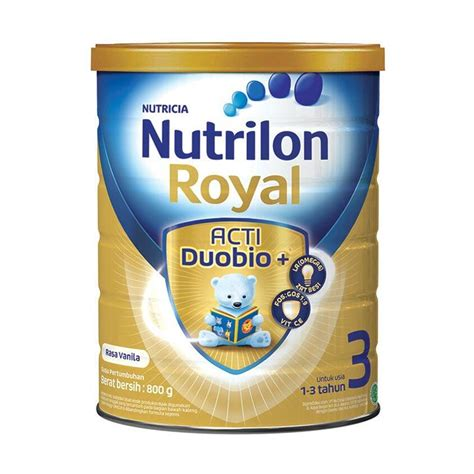 Nutrilon 3 800 Gram by Jual Weekend Deal Nutrilon Royal 3 Acti Duobio Vanilla