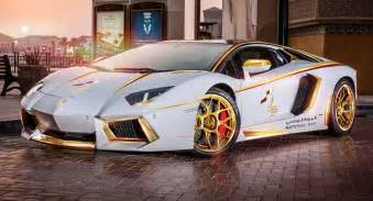 Lambo Or Gold Plated Lamborghini Aventador Is Quot 1 Of 1 Quot W