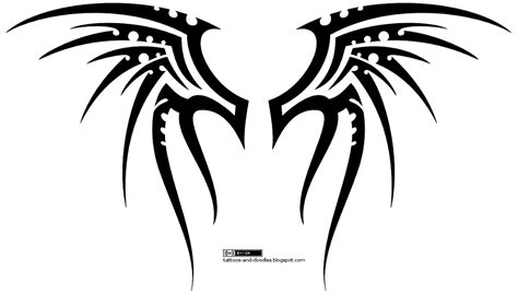 tribal wing tattoo designs tattoos and doodles tribal wings