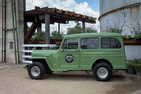 Jeep Willys Wagon Magnolia Market Vintage Jeep Willys Wagon Photograph By