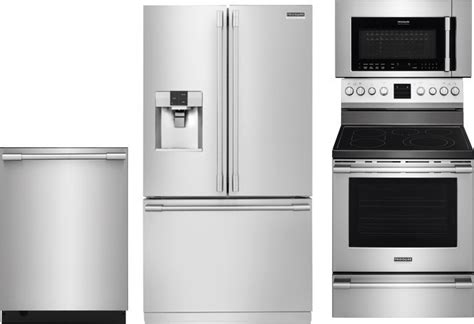 frigidaire professional kitchen appliance package frigidaire professional kitchen package 4 value electric