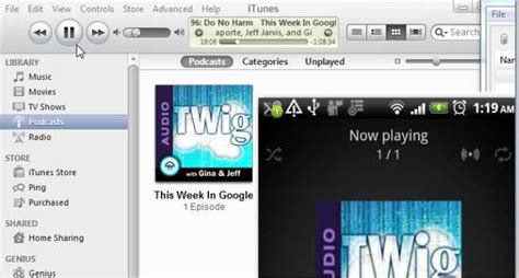 how to sync itunes to android how to sync itunes to your android phone