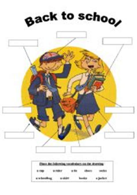 High Quality Brand New Fashion Vocabulary Book School - worksheets school uniforms vocabulary