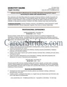 Sample Resume Objectives For Legal Secretary by Secretary Resume Examples Getessay Biz