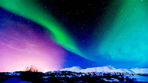 gif wallpaper of nature gif beauty northern lights nature aurora borealis shut up