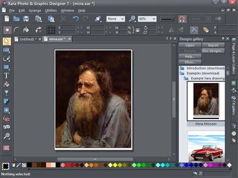 software for graphic design xara photo graphic designer