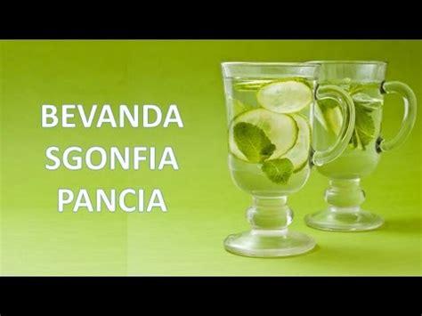 alimenti aiutano a sgonfiare la pancia le bevande aiutano a sgonfiare essere sani