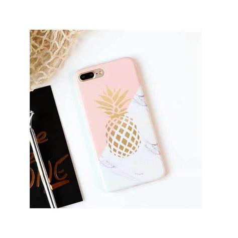 tpu soft case pineapple marble iphone   iphone   macmaniack