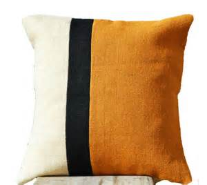 mustard color pillows decorative throw pillow mustard burlap color by