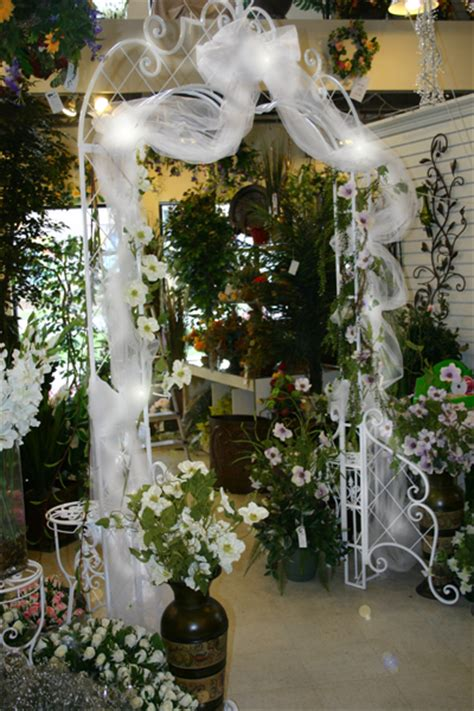 Wedding Arch Rental New Orleans by Silk Scapes Wedding Special Event Rentals