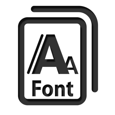 typography icon font icon icon search engine